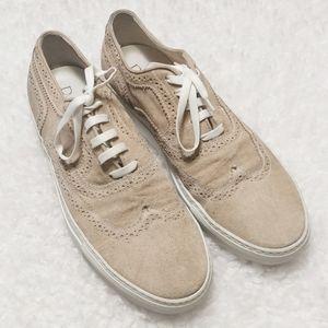 Doucal's Suede Brogue Sneakers SZ 43